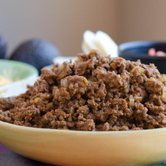 Taco Meat to freeze or serve a crowd by @SeededTable