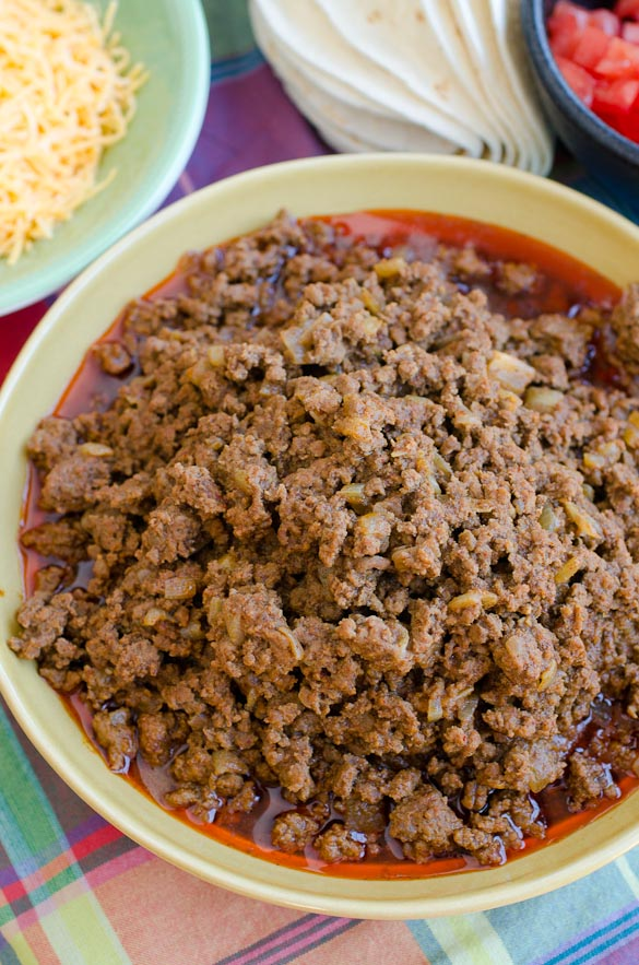 Taco Meat to serve a Crowd (or freeze for later) by @SeededTable
