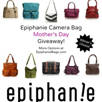 Epiphanie Camera Bags Review [Mother's Day Giveaway!]