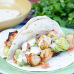 Grilled Chicken Tacos with Spiced Mayo and Avocado from SeededAtTheTable.com