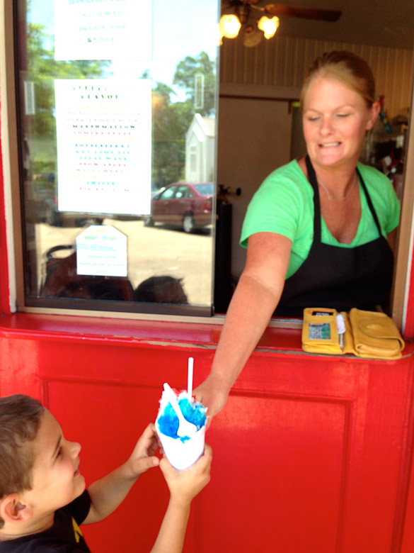 Nandy's Candy Snoballs - Jackson, MS - Right off Interstate 55, Northside Drive Exit so you can stop in when driving to NOLA or the gulf shore beaches!
