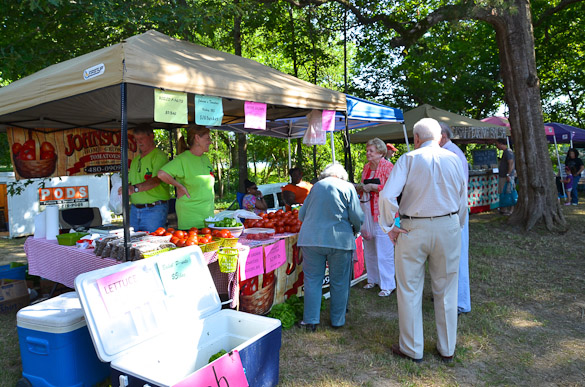 Livingston Farmers Market in Mississippi