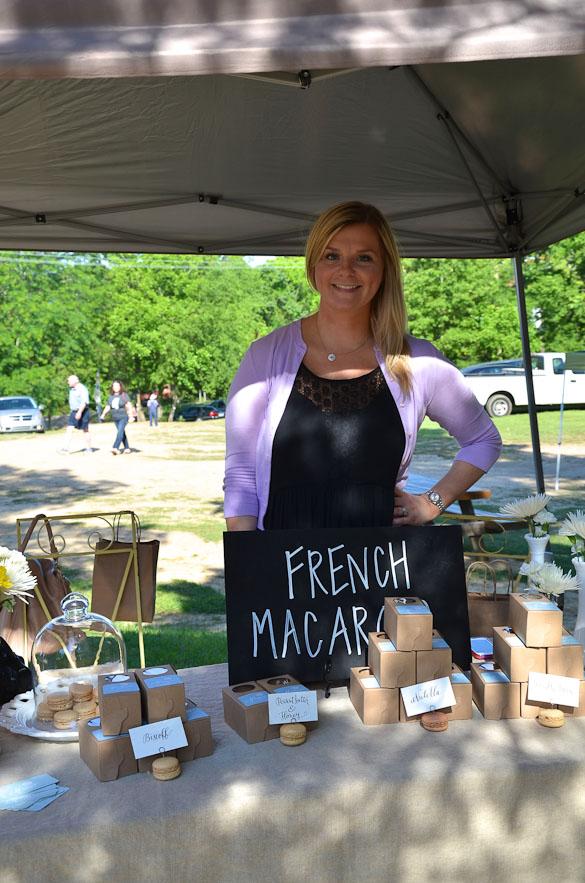 Livingston Farmers Market - Meringue Macarons @laurenbowie