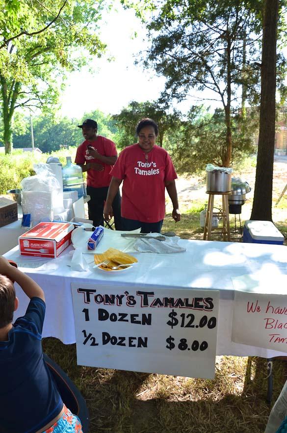 Tony's Tamales at Livingston Farmers Market