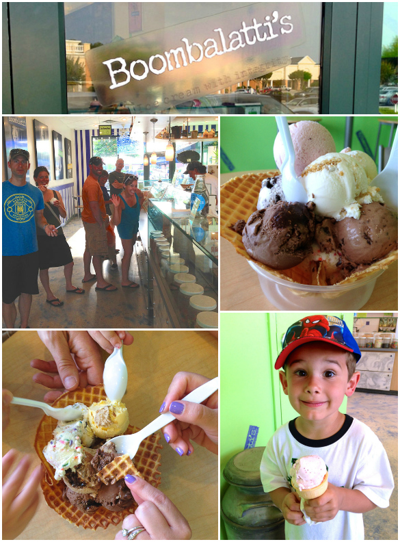Boombalatti's Ice Cream Shop - Wilmington, NC - Amazing homemade ice cream, fresh every day!