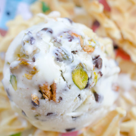 Cannoli Ice Cream - No Ice Cream Maker!