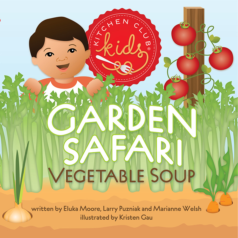 Garden Safari Vegetable Soup Kitchen Club Kids