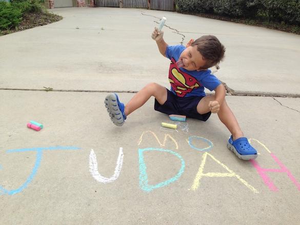 Judah Sidewalk Chalk