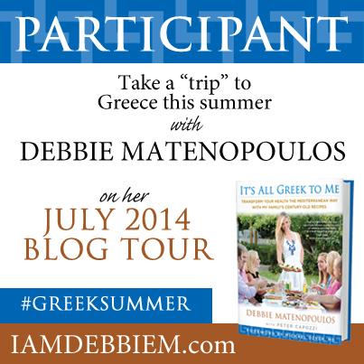 It's All Greek to Me Blog Tour and Cookbook Giveaway #GreekSummer