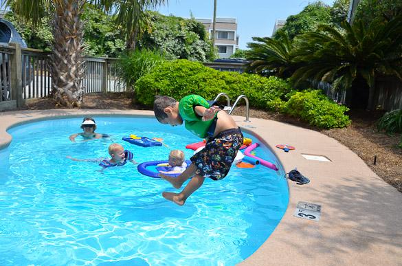 Wrightsville Beach Pool Fun