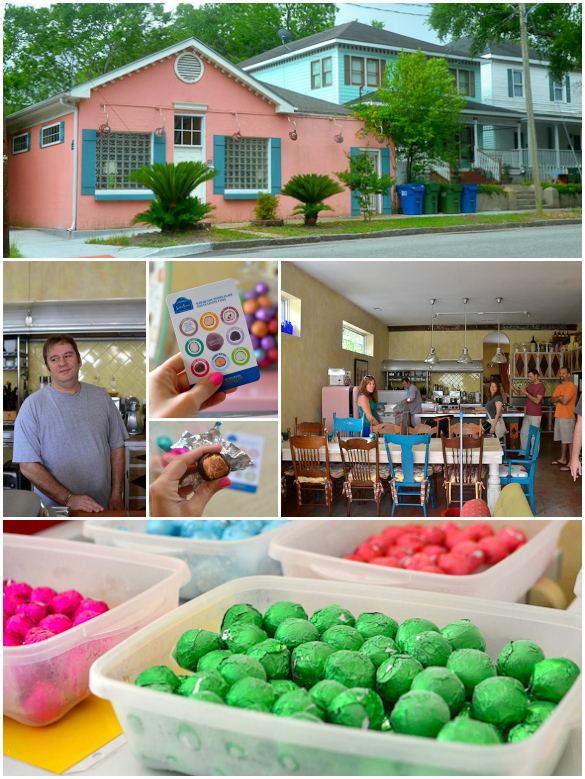 South 'n France - chocolate bon bons in Wilmington, NC - a hidden treasure!