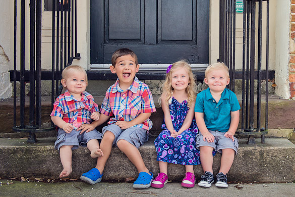 Family Photos - cousins in Wilmington, NC