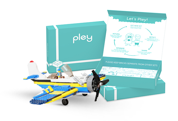 Pley Lego Rental - Like Netflix for LEGO