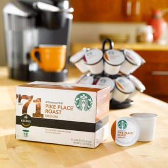 Complement Your Summer Coffee Moments with Starbucks® Pike Place® Roast K-Cup® Packs [Giveaway!]