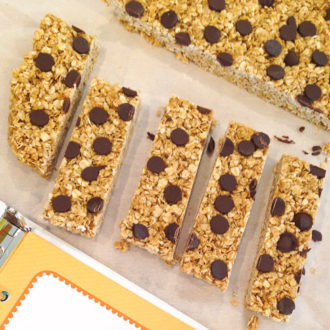 Chocolate Chip Granola Bars: Playdate with Vita Coco Kids #HydrationEducation