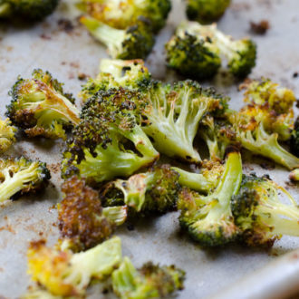 Roasted Broccoli Chips