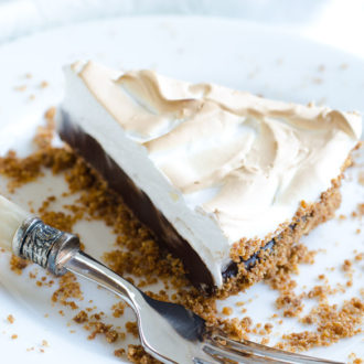 S'mores Coffee Pie