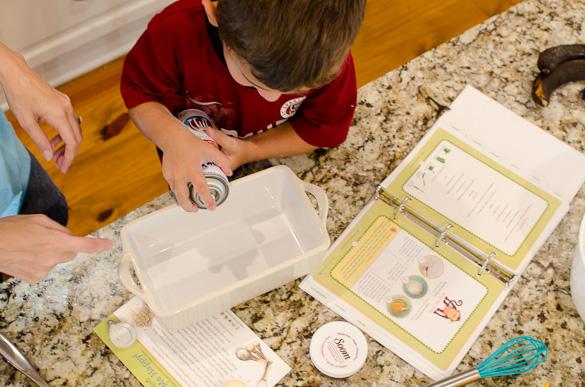 Kidstir Cooking Kits - Receive 25% off a Kidstir subscription with promo code SEEDED25 at kidstir.com
