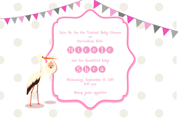Prevention RD Virtual Baby Shower