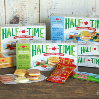 #LunchingAwesome with HALF TIME™ Lunch Kits