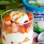 Candied Roasted Root Vegetable Parfait Collage #stonyfieldblogger