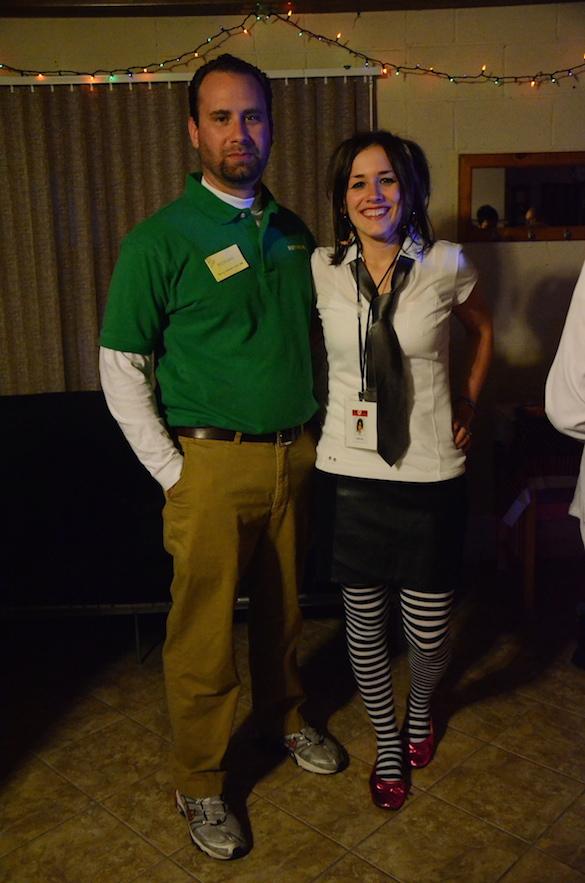 Halloween Costumes - TV Show Chuck (Morgan and Anna)