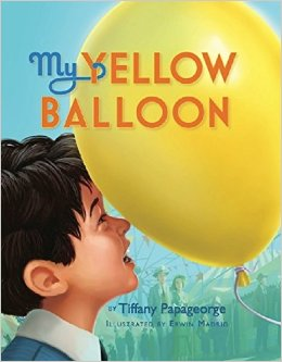 My Yellow Balloon - a children's book that helps prepare little hearts for a time of grief and loss.