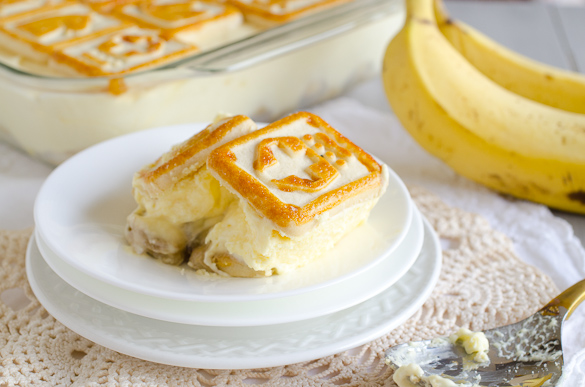 Chessmen Cookies Banana Pudding