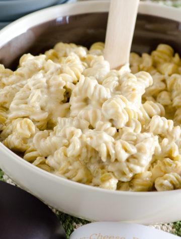 Five Cheese Fifteen Minute Mac n Cheese