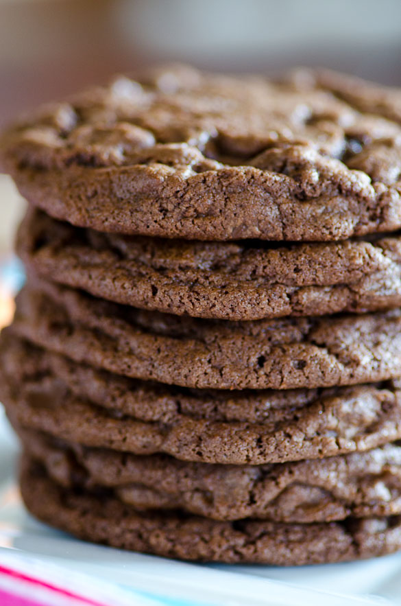 Giant Double Chocolate Bakery Cookies