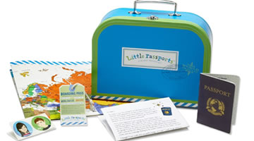 Little Passports Subscription - Christmas gift idea for the young learner in your life.