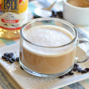 Vanilla Latte - you can make at home without an espresso machine or fancy equipment!
