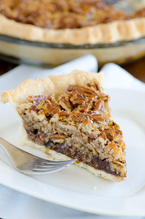 German Chocolate Pecan Pie - easiest gourmet pie!