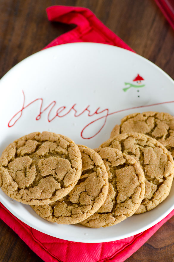 Christmas plate of cookies