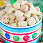 Jingle Bell Bites (Holiday Shortbread Bites)