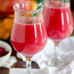 Kid Friendly Orange Pomegranate Fizzy Drink