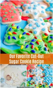pinterest collage for best sugar cookie recipe
