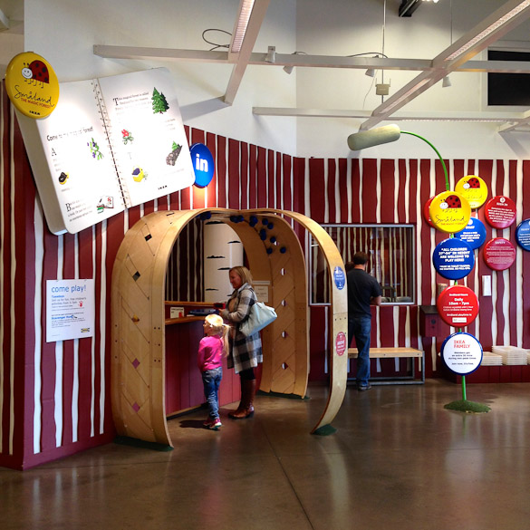 Family-Friendly Austin, TX:  IKEA Småland - children's supervised playground while parents shop!