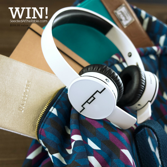 Track Air Headphones #Giveaway Sol Republic  SeededAtTheTable.com