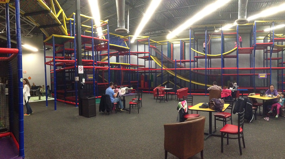 Family-Friendly Austin, TX: Mt. Playmore Indoor Playground