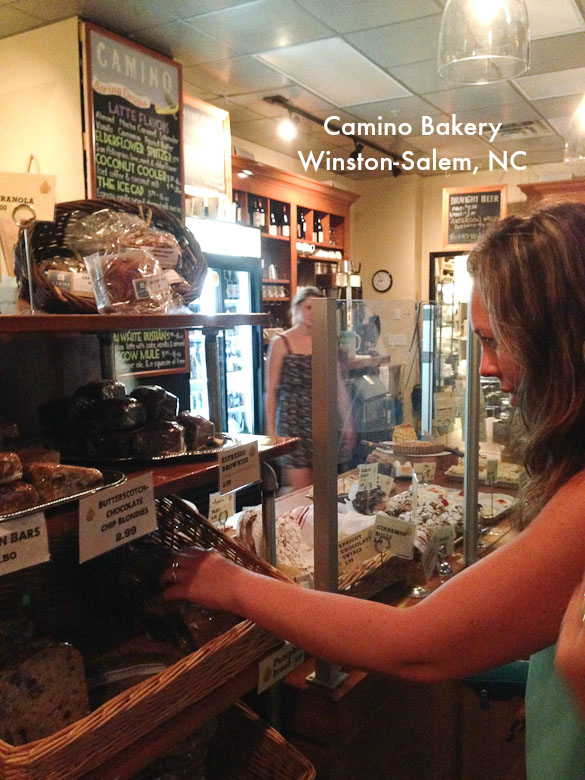 Camino Bakery - coffee, wine, desserts in downtown Winston-Salem, NC