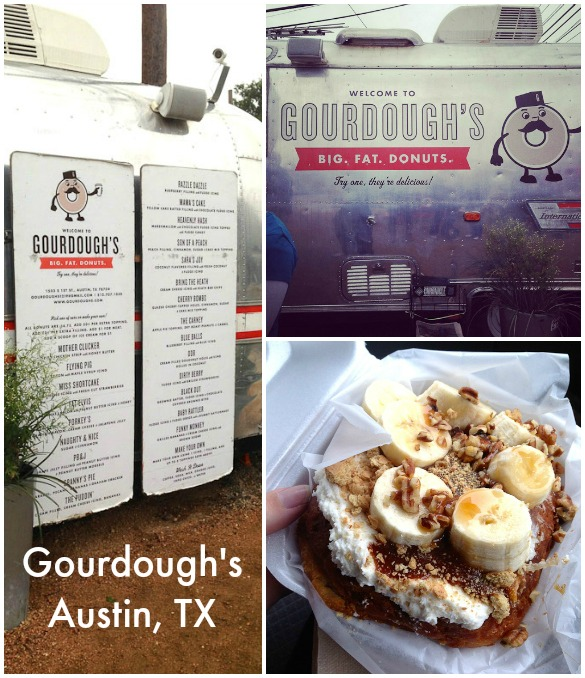 Family-Friendly Places to Eat in Austin, TX: Gourdough's Big Fat Donuts (food truck)