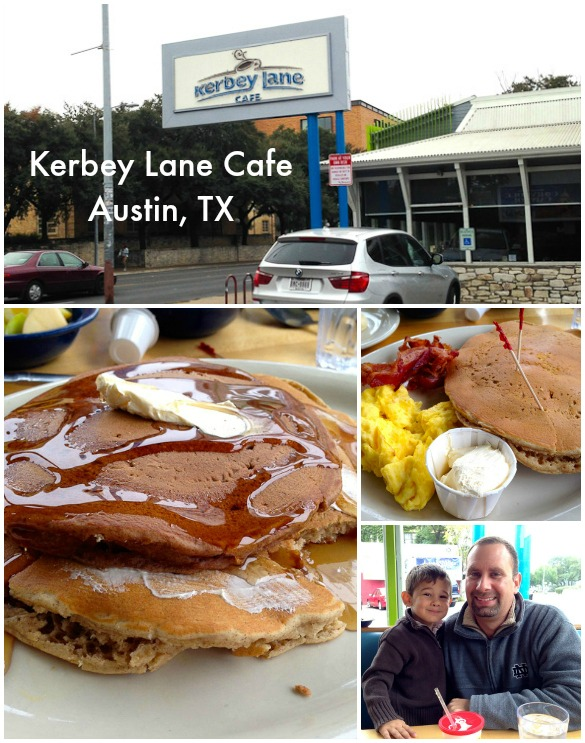 Family Friendly Places to Eat in Austin, TX: Kerbey Lane Cafe