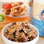 No-Bake Chocolate Cranberry Almond Clusters