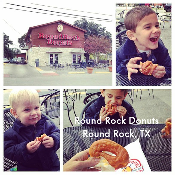Family-Friendly Places to Eat in Austin, TX: Round Rock Donuts