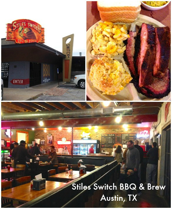 Family-friendly Places to Eat in Austin, TX: Stiles Switch BBQ & Brew