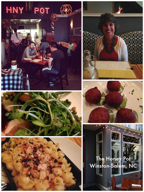 The Honey Pot - downtown Winston-Salem, NC. Farm to table dining.