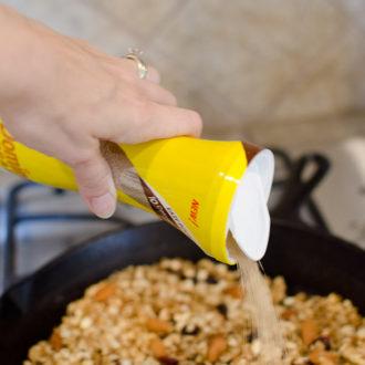 15-Minute Skillet Granola Recipe + $100 VISA Giveaway!