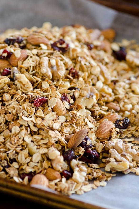 Homemade 15-Minute Skillet Granola