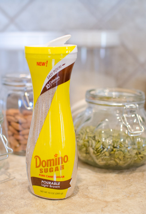 Homemade 15-Minute Skillet Granola - with Domino® Pourable Light Brown Sugar